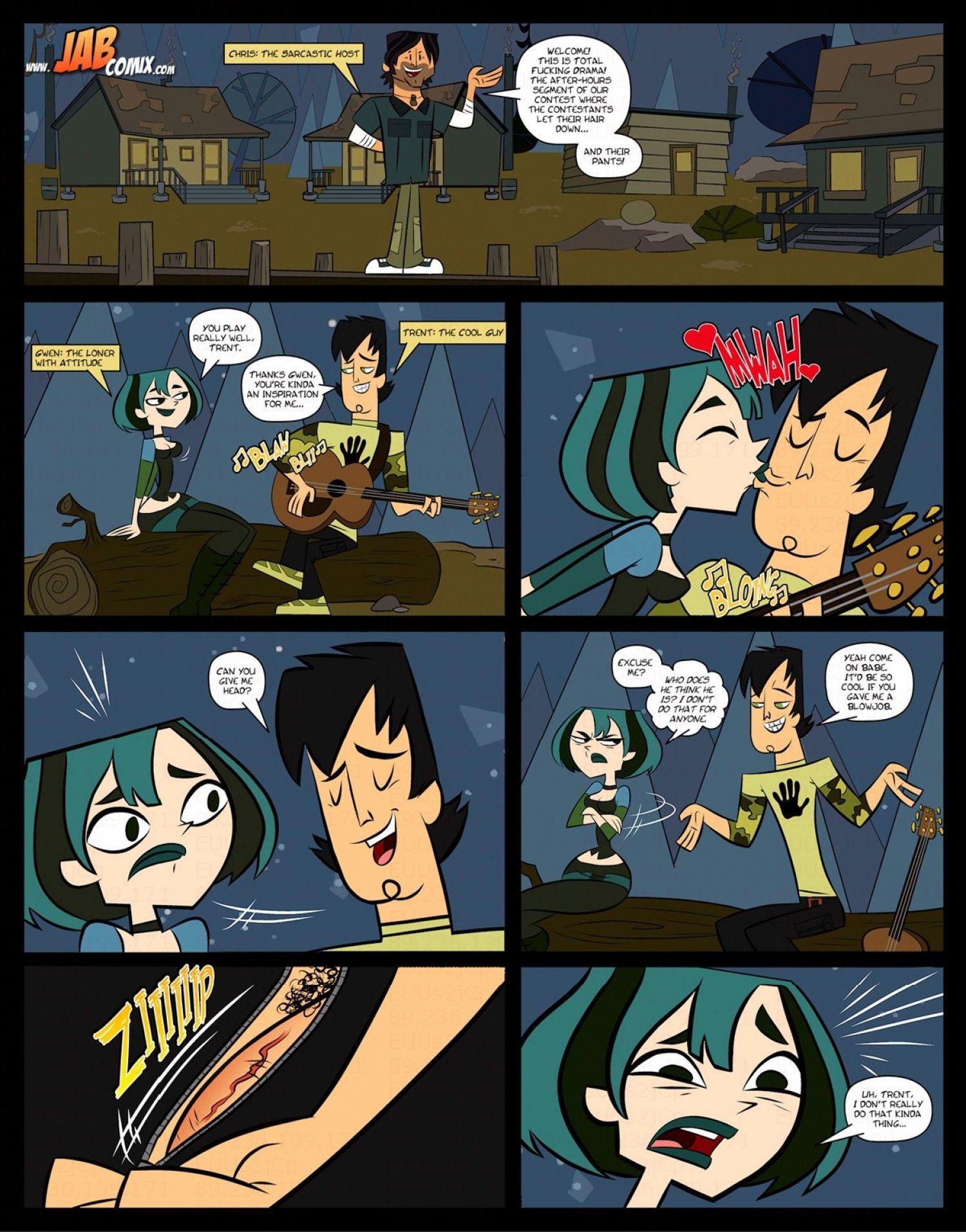 Jab comix total fucking drama litosh comics